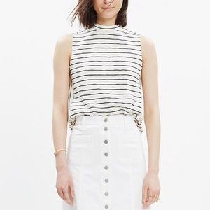 Madewell Mixtape Tank in Stripe